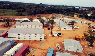 مشروع خيم مسبقة الصنع
