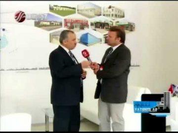 برنامج الاستثمارات الذكية لقناة BeyazTV [معرض الأبنية 2014]