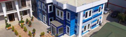 أبنية مكاتب دوبلكس بالفولاذ الخفيف