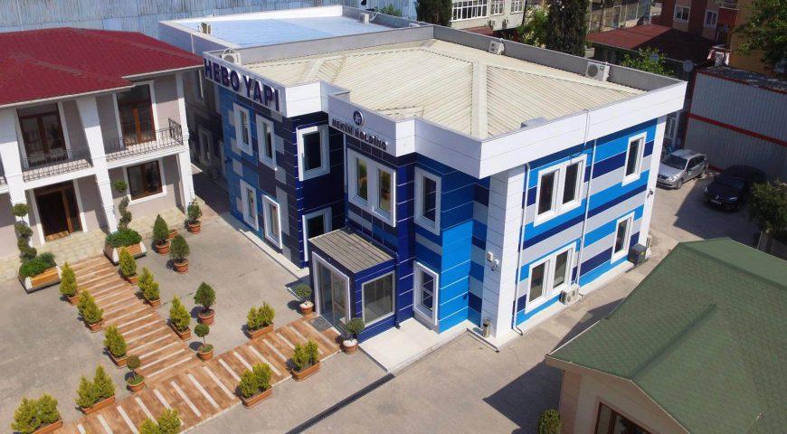 أبنية مكاتب دوبلكس بالفولاذ الخفيف-3