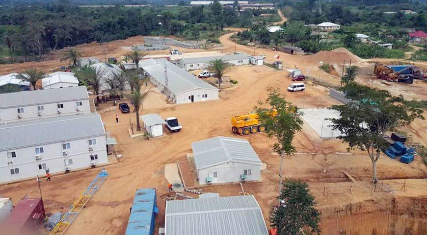 أبنية المخيمات