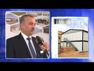 برنامج أخبار المعارض لقناة ÜlkeTV [معرض الأبنية 2014]
