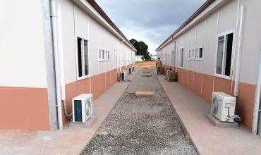 مباني مستشفيات كورونا Covid-19 بمساحة 3.500 متر مربع