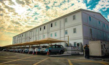 مبنى المكاتب بمساحة 3.000 متر مربع